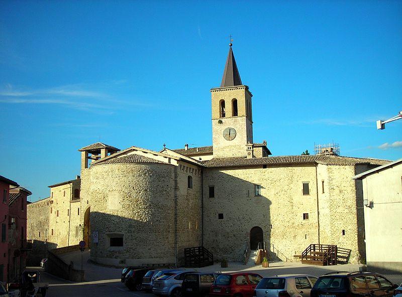 Veduta del Castello di Castel Ritaldi